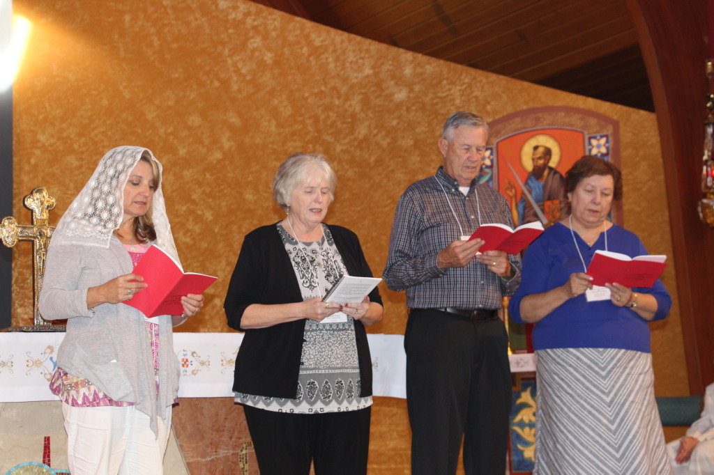 HFI members renewing their Pauline vows