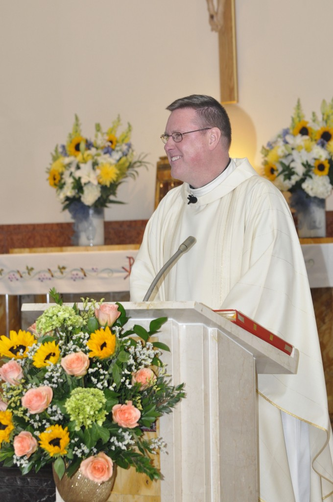 Fr. Bill Kelly, Mass Celebrant and Homilist