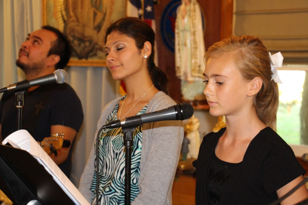 Music Ministry joined by Sarah Fedak
