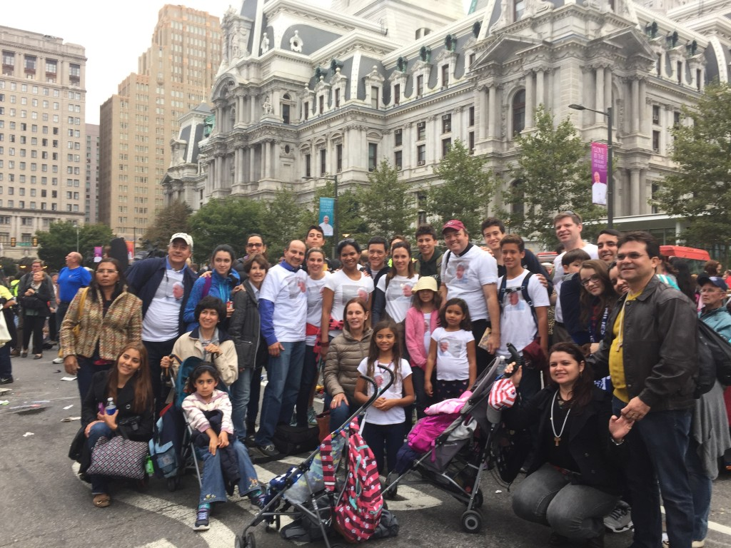 Holy Family group that came down from Boston