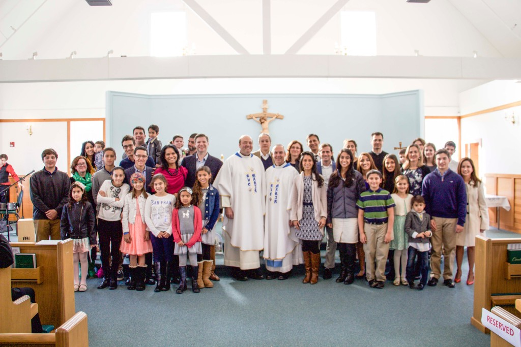 With the Holy Family Group of Boston, a special ministry of Fr. Michael's and Fr. Ed's